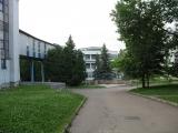 переход в лечебный корпус, Санаторий «Алмаз»